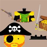Lego Pirates: Captain Redbeard Disassembled