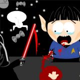 Star Wars vs. Star Trek, Litterally