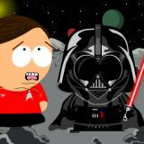 Darth Vader chokes Red Shirt