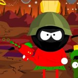 Marvin The Martian and K-9