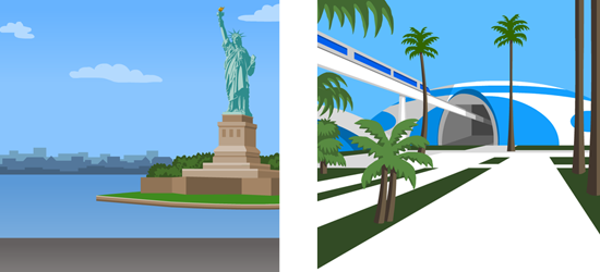 Statue of Liberty & Venus Project
