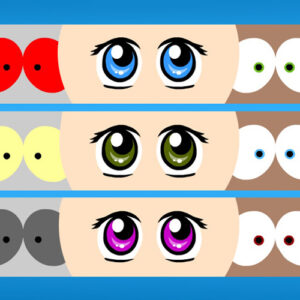 Anime eyes for your avatar