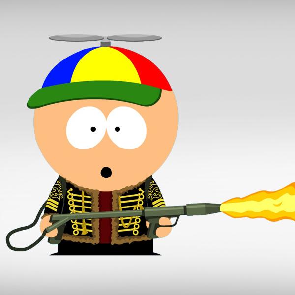 Flamethrower guy