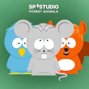 South Park animals