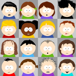South Park character update: hairstyles
