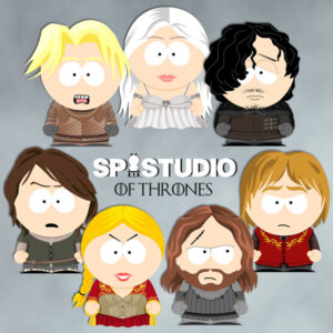 Game of Thrones in South Park style