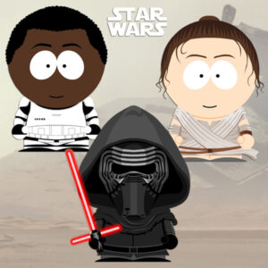 Star Wars South Park style