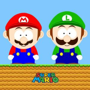 Super Mario tribute