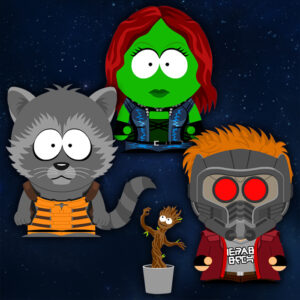Suth Park x Guardians of the Galaxy crossover SP-Studio update