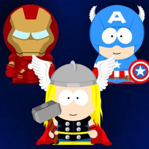 South Park x Avengers crossover SP-Studio update