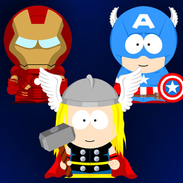 South Park Avengers crossover