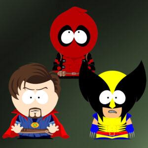 South Park x Marvel crossover SP-Studio update